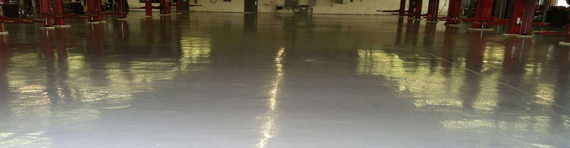 Epoxy Flooring in Assembly Plant