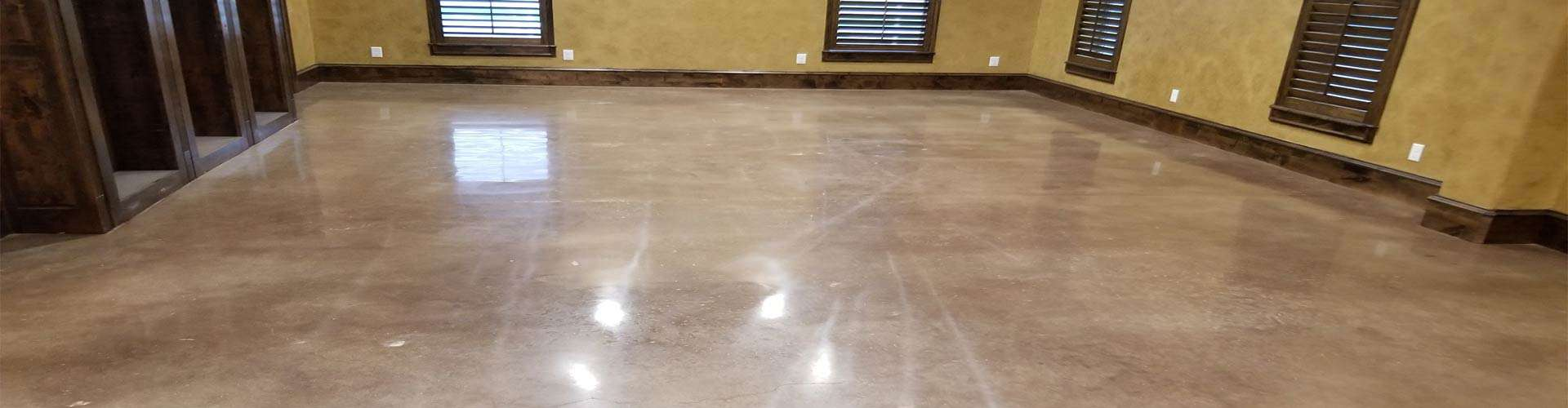 Polished Office Floor Concrete