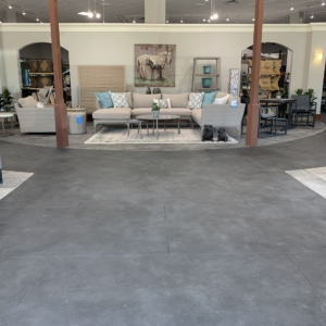 great example of the beauty of our limestone overlays used in entryway