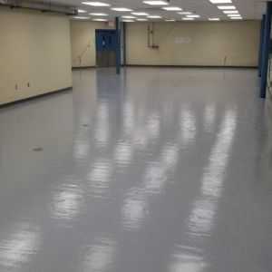 manufacturing plant resurfaced with epoxy coatings